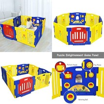 Baby Playpen Kids 8 Panel Safety Play Center Yard - $182.82