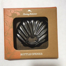 Tommy Bahama Bottle Opener Shell Gun Metal Gray Beach Summer Theme NIB  - £9.56 GBP