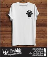 Pug Life Logo T Shirt Funny Dog Thug Swag Present Tumblr Hipster Unisex ... - $12.76