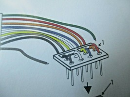 Soundtraxx 810135 9-Pin JST to NMRA 8-Pin Wiring Harness image 2