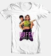 Buffy Vampire Slayer T-shirt retro 90s Luke Perry movie 100% cotton graphic tee image 2