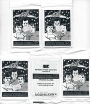 Star Trek IV The Voyage Home Trading Cards 1987 FTCC 5 SEALED UNOPENED P... - $4.99