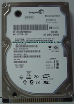 "NEW ST9808211A Seagate 80GB IDE 44PIN 2.5"" 9.5MM Hard Drive Our Drives Work"