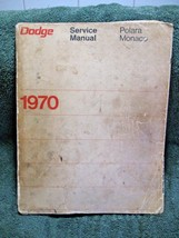 Vintage DODGE Repair/Reference/Service Manual 1970 POLARA/MONACO-Collectible!!! - $16.50