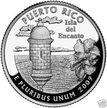 2009-P PUERTO RICO TERRITORIAL QUARTER ~~FREE SHIPPING INCLUDED~~ - $2.93