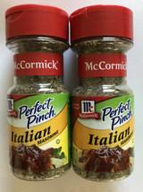 2 Pack McCormick Perfect Pinch Italian Seasoning .75 oz. Sealed, Best By 12/2022 - $17.81