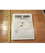 1993 1994 Harley Davidson Motorcycles FLT FXR Models Service repair manual Book - $78.99