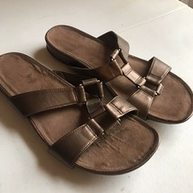 Brown Womens Sandals Aerosoles Size 10 Leather - $9.66