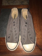 Converse All Star Chuck Taylor Low Top Gray Sneakers Womens Size 5.5 - $13.30 CAD