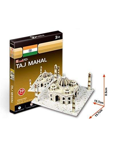 PANDA SUPERSTORE The Taj Mahal Three-Dimensional Building of Manual Assembly Pap
