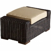 RST Brands OP-PECCLOTTO-LNK-E Resort Collection Club Ottoman Patio Espresso - $395.95