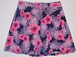Victoria's Secret PINK Skirt Hawaiian Hibiscus Floral Pattern Size Medium M - $13.99