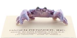 Hagen-Renaker Miniature Ceramic Wildlife Figurine Maryland Blue Crab image 3