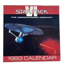1993 Star Trek Calendar Pocket Books Wall Hanging - Unused - $11.96