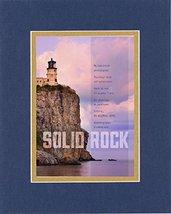 GoodOldSaying - Poem for Inspirations - Solid Rock. . Poem on 8x10 Bibli... - $11.14