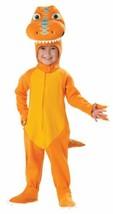 Buddy Dinosaur Train Toddler 4T - 6T Large Orange Halloween Costume - $39.19