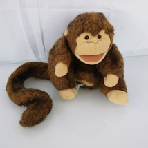 "Folkmanis Puppet Brown Monkey Plush Stuffed Animal 8"" Folktails Furry Folk - $11.85"