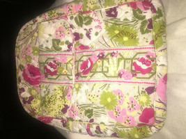 Vera Bradley Purse Backpack MAKE ME BLUSH  Good preowned condition - $29.39