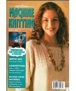 Modern Machine Knitting Mar 1994 Magazine Intarsia Thomas Tank Engine BE... - $39.99