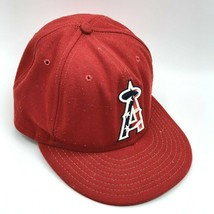 Los Angeles Angels Anaheim 4th of July New Era 59FIFTY Size 7 Hat Cap Fitted USA - $24.99