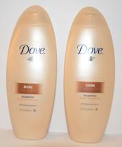 2 DOVE Shine Therapy Shampoo with Repairing Serum 12 FL OZ. (355 ml) - $18.99