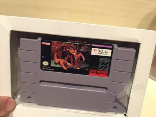 Pit-Fighter (Super Nintendo Entertainment System, 1992) in Box image 2