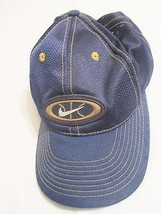 NIKE Vintage Baseball Cap/Hat One Size Snapback Maize/Blue Running, Fishing - $29.00