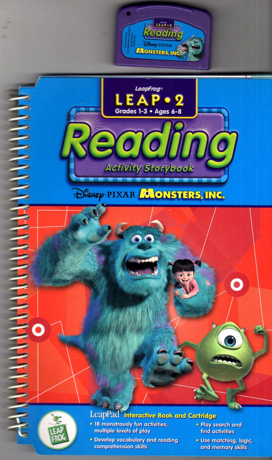 LeapFrog - Reading Activity Storybook - Monsters, Inc. - Leap 2