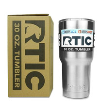 30 oz RTIC Tumbler Cups Stainless Steel 30 oz RTIC Rambler - $23.99