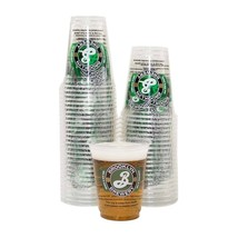 Brooklyn Brewery Plastic Cup 50 Pack Clear - $26.98