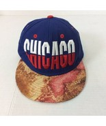 Chicago IL Red White Embroidered Colorful Brim Baseball Cap Ball Hat Snapback - $16.82
