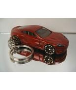 Dark Red 2010 Aston Martin DBS Key Chain Ring - $14.24
