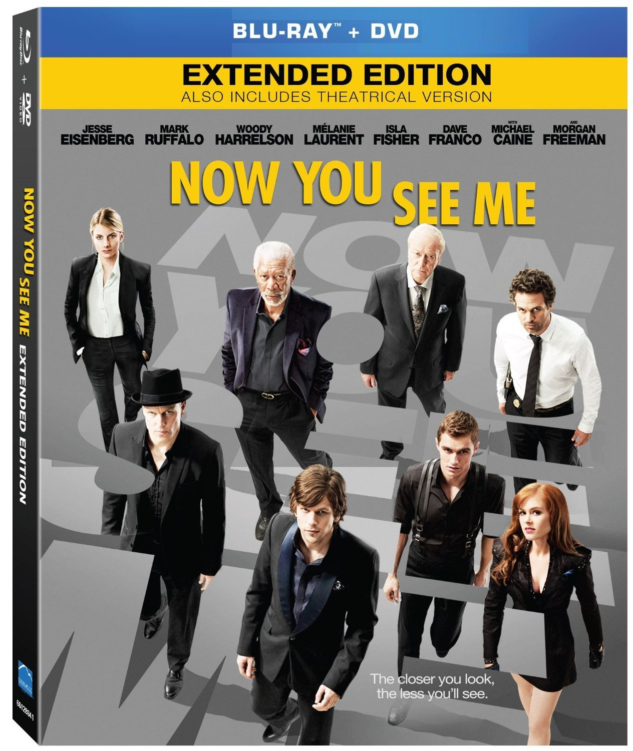 Now You See Me (Blu-ray/DVD, 2013, 2-Disc Set)