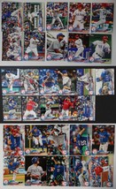 2018 Topps Series 1,2 and Update Texas Rangers Team Set of 31 Baseball C... - $3.99