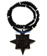 5 Percenter 7 Star New Good Wood Style Pendant with Beaded Chain - $16.33+