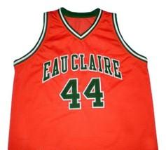 Jermaine O'Neal Eau Claire High School Basketball Jersey Sewn Orange Any Size image 4