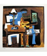 Pablo Picasso THREE MUSICIANS Estate Signed Limited Edition Art Giclee Size - $74.79