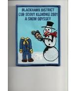 2001 Blackhawk District Cub Scout Klondike patch - $4.16