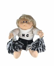 Vintage 1982 Cabbage Patch Cornsilk Doll In Cheerleading Outfit - $29.69