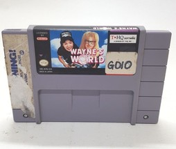 Wayne's World Super Nintendo Entertainment System 1993 SNES Video Game Cartridge - $11.47