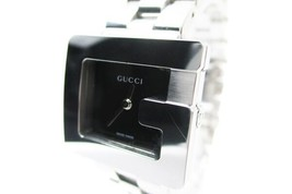 """Auth GUCCI 3600L """"G Series"""" Black Dial STAINLESS STEEL Women's Watch GW4... - $358.27 CAD"""