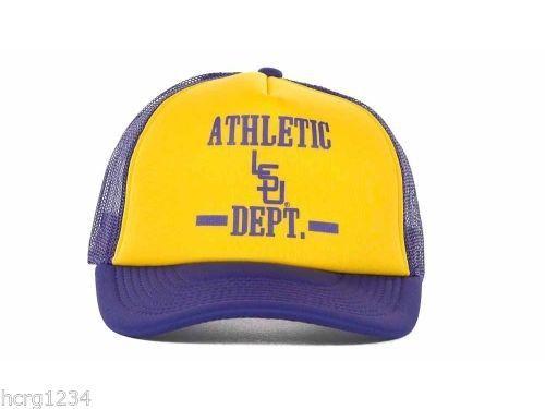 best website 003ee eec88 LSU Tigers Top of The World NCAA Athletic Dept. Vault Foam Trucker Cap Hat