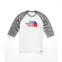 Men's New The North Face Americana 3/4  T-Shirt  Tee Top Sizes Small-2XL - $32.99+