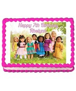 American Girl Group Edible Cake Image Cake Topper Party Decoration - $7.80