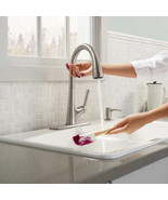 New Kohler Malleco Touchless PullDown Kitchen Faucet with Soap Dispenser - $169.00