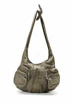 Alexander Wang Bag - Donna Leather Shoulder Knotted - Zipper Detail & Po... - $296.98