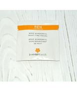 Ren Wake Wonderful Night Time Facial try sample 0.07 fl.oz. 2 ml. - $4.90