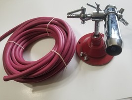 Glass Blowing Torch LampWorking Blast Burner Borosilicate Heavy Base USA... - $205.34