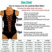 Fashion Womens One-piece Swimsuit Swimwear Push Up Monokini Bathing Suit Bikini image 3