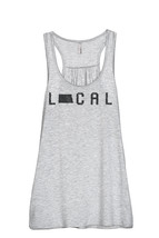 Thread Tank Local North Dakota State Women's Sleeveless Flowy Racerback ... - $24.99+